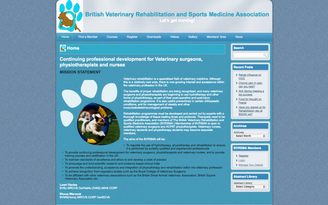 British Veterinary Rehabilitation and Sports Medicine Association