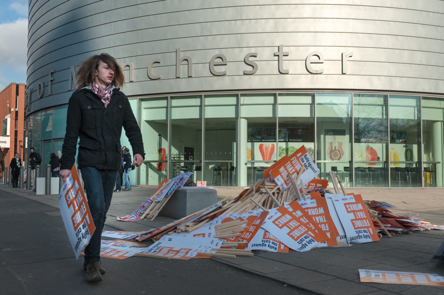 student protest manchester documentary photography stuart coleman