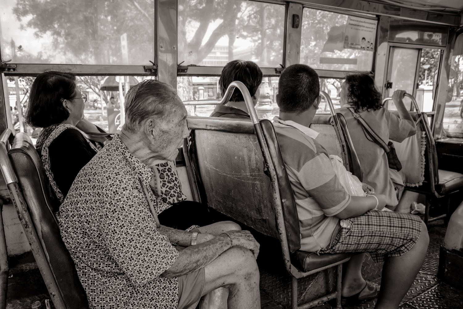 bus passengers documentary photography stuart coleman